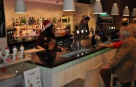 Bar during Christmas
