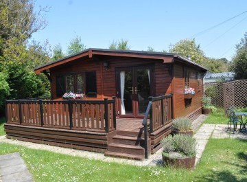 A superb Holiday Lodge at Cliff House Holiday Park