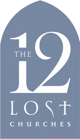 The 12 Lost Churches Logo